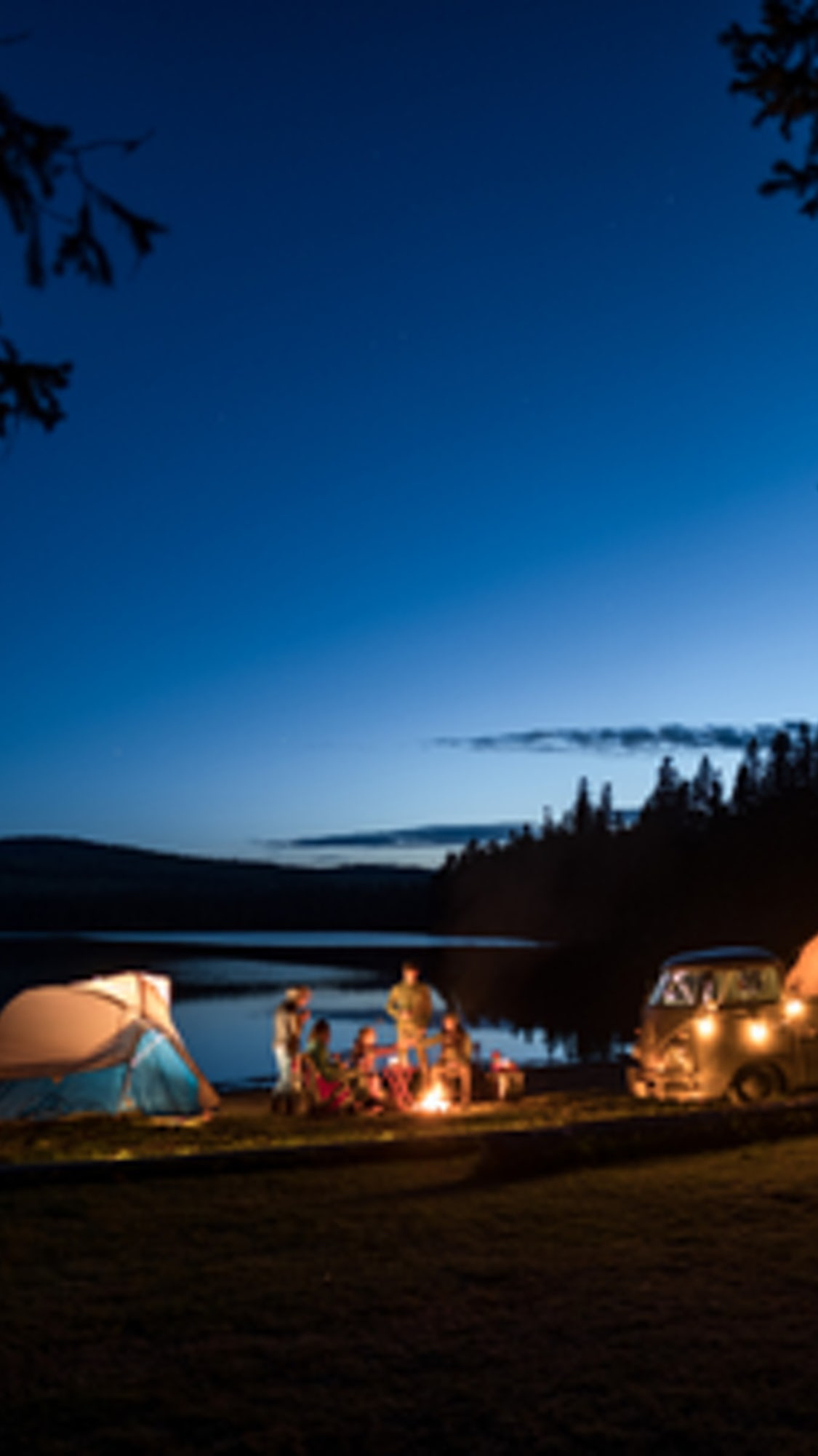 Camping in the South Kootenays